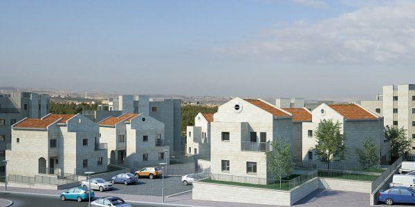 דופלקס נאמן - הדמיית פרוייקט דירות
