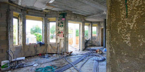 בית פרטי - שלבי בניה
